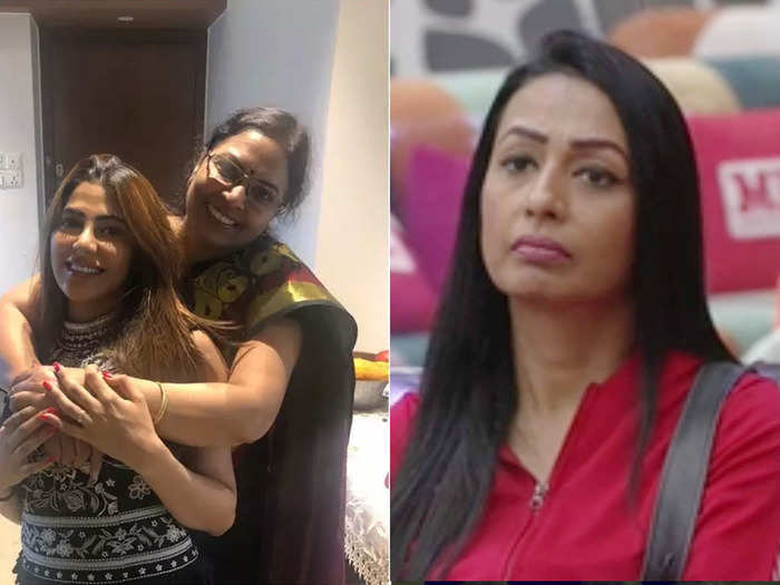 bigg boss 14 nikki tamboli mother slams kashmera shah if she would have got married at a young age like dimple kapadia she would be a mother of a grown up girl