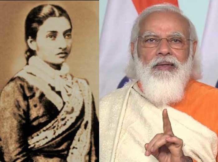 पीएम मोदी ने किया ज्ञाननंदनी देवी का जिक्र