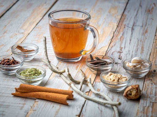 how to make herbal or ginger kadha at home and health benefits of it in marathi