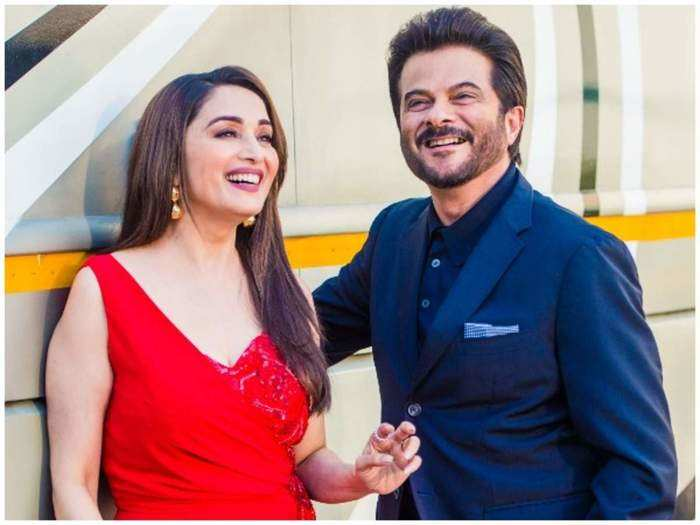 story behind of anil kapoor and madhuri dixit affair gossip in marathi