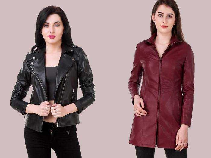 Amazon से आज ही खरीदें ये Women Leather Jackets, मिल रहा है महाबचत करने का मौका