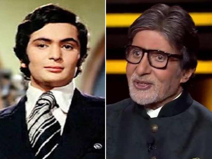 Amitabh Bachchan Rishi Kapoor