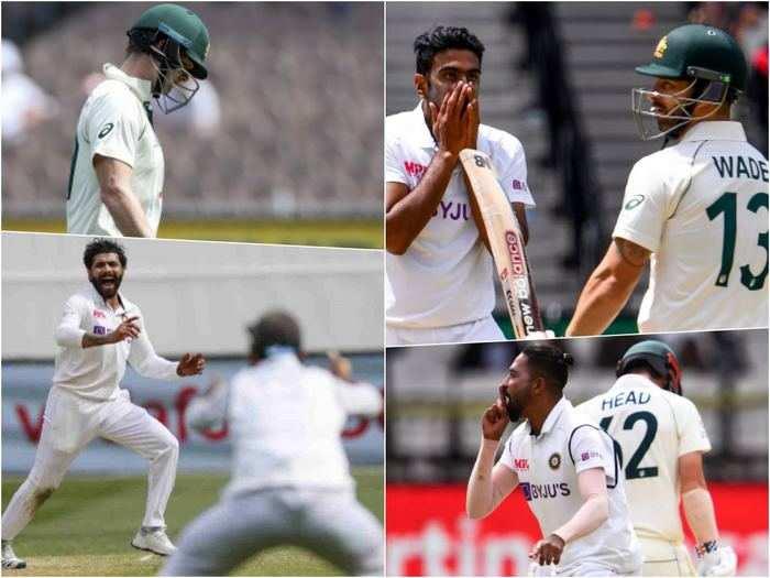 australia vs india 2nd test how indian bowlers got the better of australian batsmen