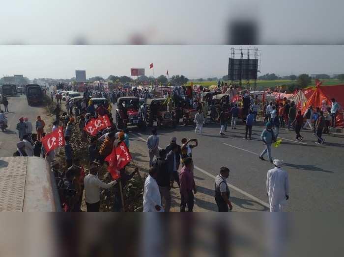 Rajasthan : जयपुर -दिल्ली रूट पर किसान आंदोलन से सफर में हो रही देरी,ये हैं चार वैकल्पिक रूट