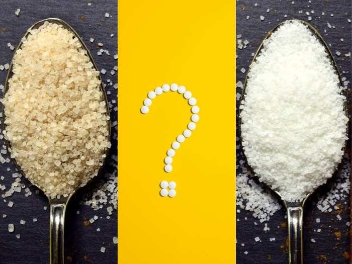 which is healthier brown or white sugar and what is the difference between these two