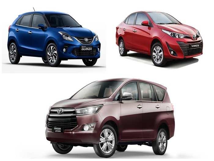 Toyota Fortuner Innova Glanza Yaris Discount India 2