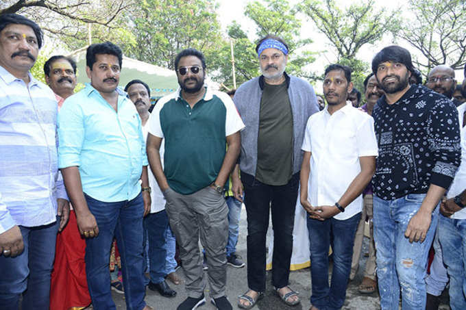 Jani Master Debut Movie Launched