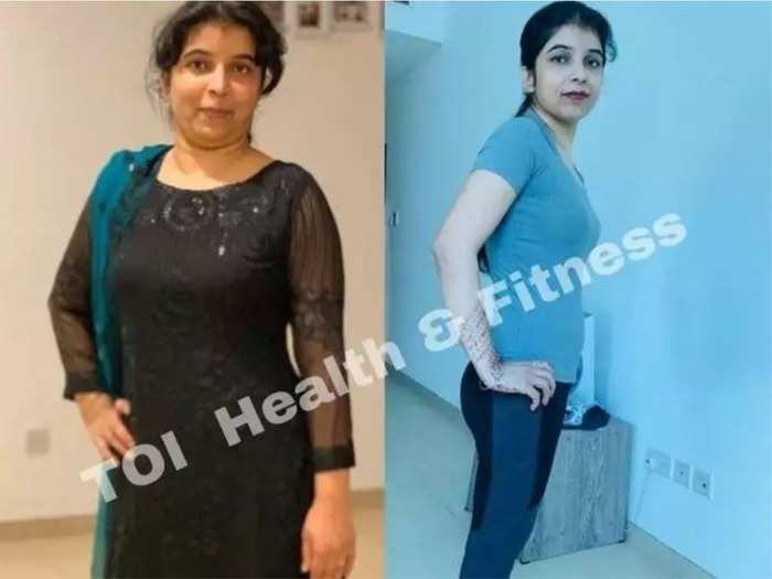 woman lost 20 kg from 73 kilo in 3 months during lockdown read diet chart workout routine
