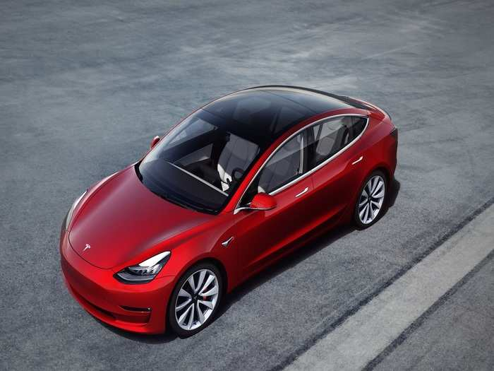 Tesla Electric Car Model 3 Booking Sale India