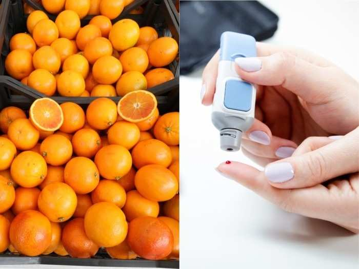 can people with type 2 diabetes eat oranges?