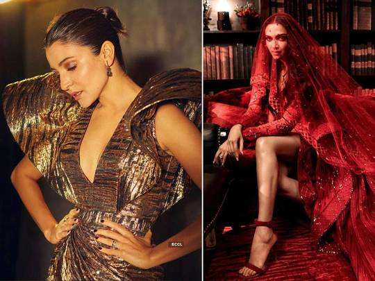 from anushka sharma-kareena kapoor khan to ananya panday bollywood actress in shimmery dresses