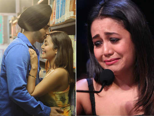 neha kakkar cried after hearing praise from husband rohanpreet singh in indian idol every woman want such man