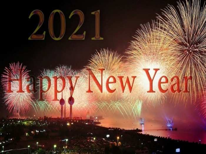 Happy New Year 2021 Wishes Whatsapp Stickers Themes 4