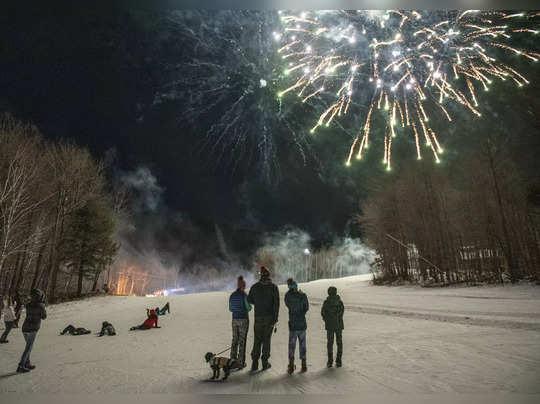 New Years Celebration Maine