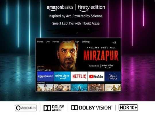 AmazonBasics TV india Launch Price Features