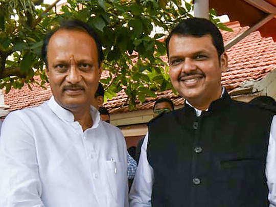 Ajit Pawar and Devendra Fadanvis
