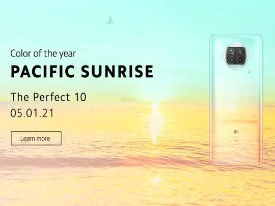 Mi 10i Launch India Color Price Specifications