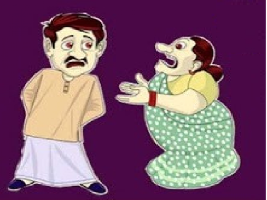 sharabi husband wife jokes