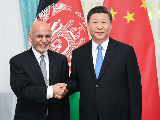 afghanistan china