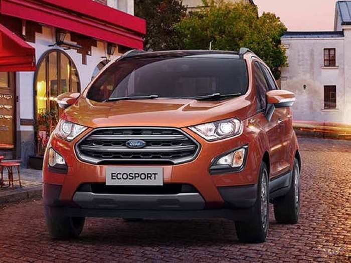 Ford Ecosport Price Reduced In india 1
