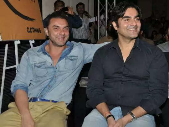 सोहेल खान और अरबाज खान