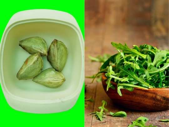 know the hidden health benefits of ayurvedic green leaves of arugula eruca sativa