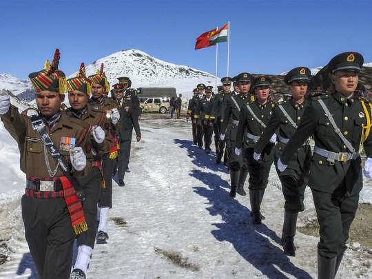 Ladakh tension India China