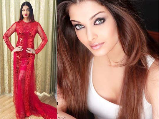 aishwarya rai bachchan gave picture perfect look and shows off her perfect winged eye liner
