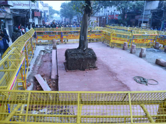 controversy over chandni chowk hanuman mandir, know full story of political rift due to this temple