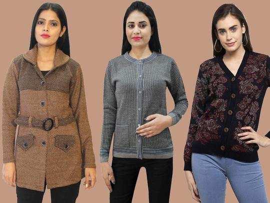Womens Cardigan On Amazon : ठंड से राहत के साथ अच्छे लुक के लिए Amazon से खरीदें ये Cardigans