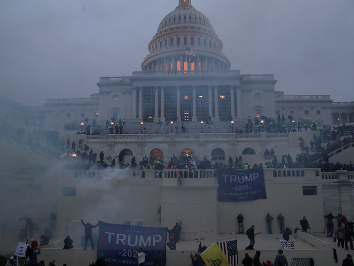 donald trump supporters maga violence in us capitol hill fear of civil war in america