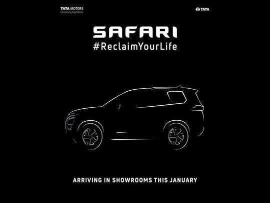 new tata safari