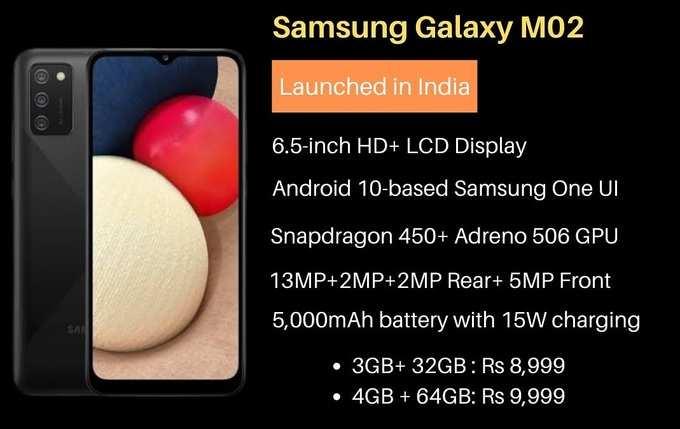 Características y precio del Samsung Galaxy M02s