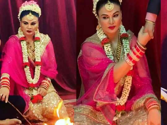bigg boss 14 rakhi sawant shocking revelation husband threatened to divorce and left her right after tying the knot