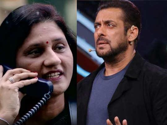 bigg boss 14 rahul vaiya mother hits at salman for calling her son bhagoda says beta agar bhaga tha toh maa ke liye