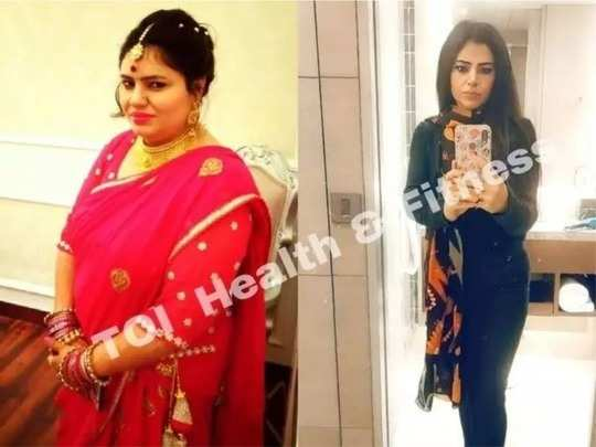 this lady from noida lost 30 kgs weight by eating chicken every day know her weight loss journey here