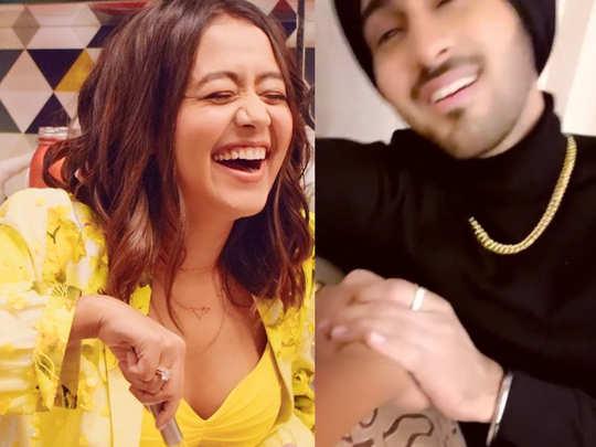Neha Kakkar video viral Rohanpreet Sings Garry Sandhu Song