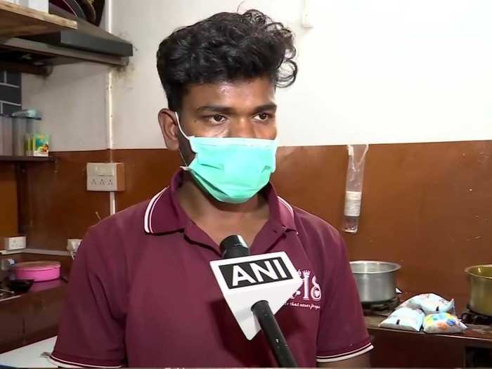 after losing job as security guard 28 years old open his cafe in pune