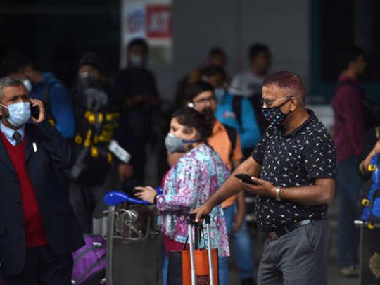 delhi airport corona 2
