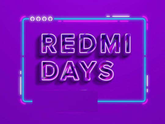 redmi days sale
