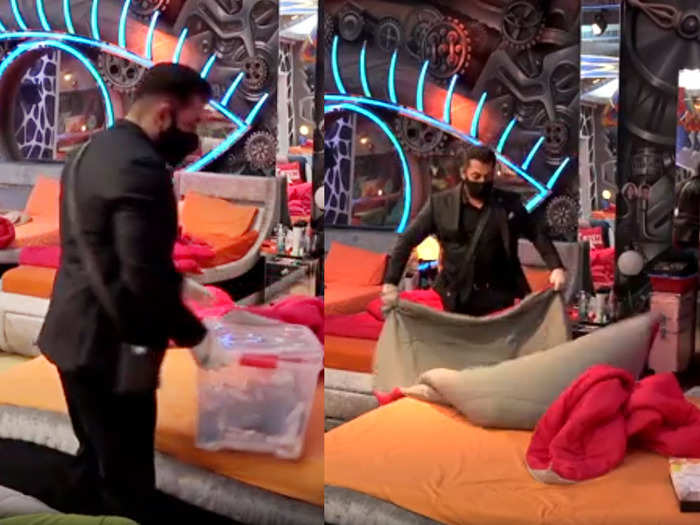 salman bed video