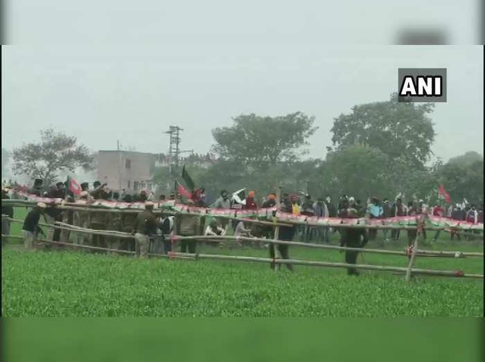 farmer protest karnal