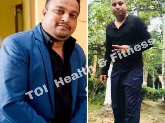 weight loss man lost 22 kg in 7 months without gym know his diet secrets