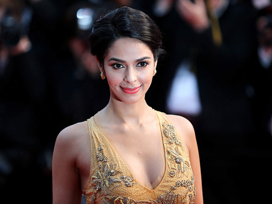 mallika sherawat repeat her emilio pucci gown at cannes