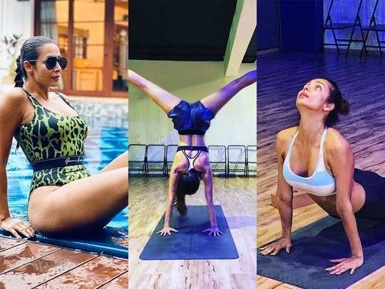 malaika arora different yoga poses with pics know its benefits for toned figure and fit body
