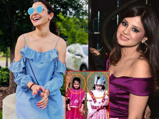 anushka sharma and sakshi doni were schoolmates at one point in their life