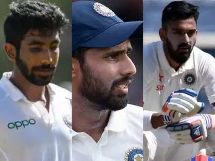 india vs australia list of injured indian players on australia tour jasprit bumrah hanuma vihari included