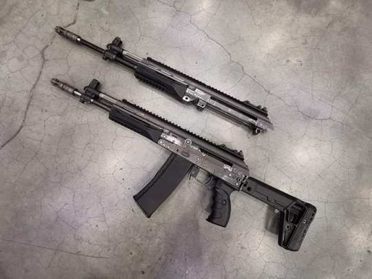 what the new akv-521, kalashnikov new ak-521 rifle revealed, know specifications range and fire power