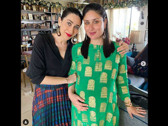 special pregnancy tips which karishma kapoor gives to sister kareena kapoor in marathi