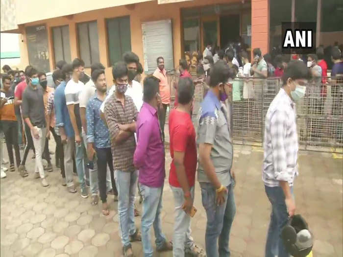 tamil nadu actor vijay fans gathered outside theatre in chennai as his film master released